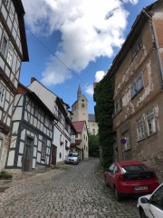 Die Altstadt von Treffurt (Thüringen)