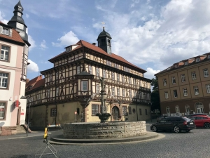 Das Rathaus von Vacha (Thüringen)