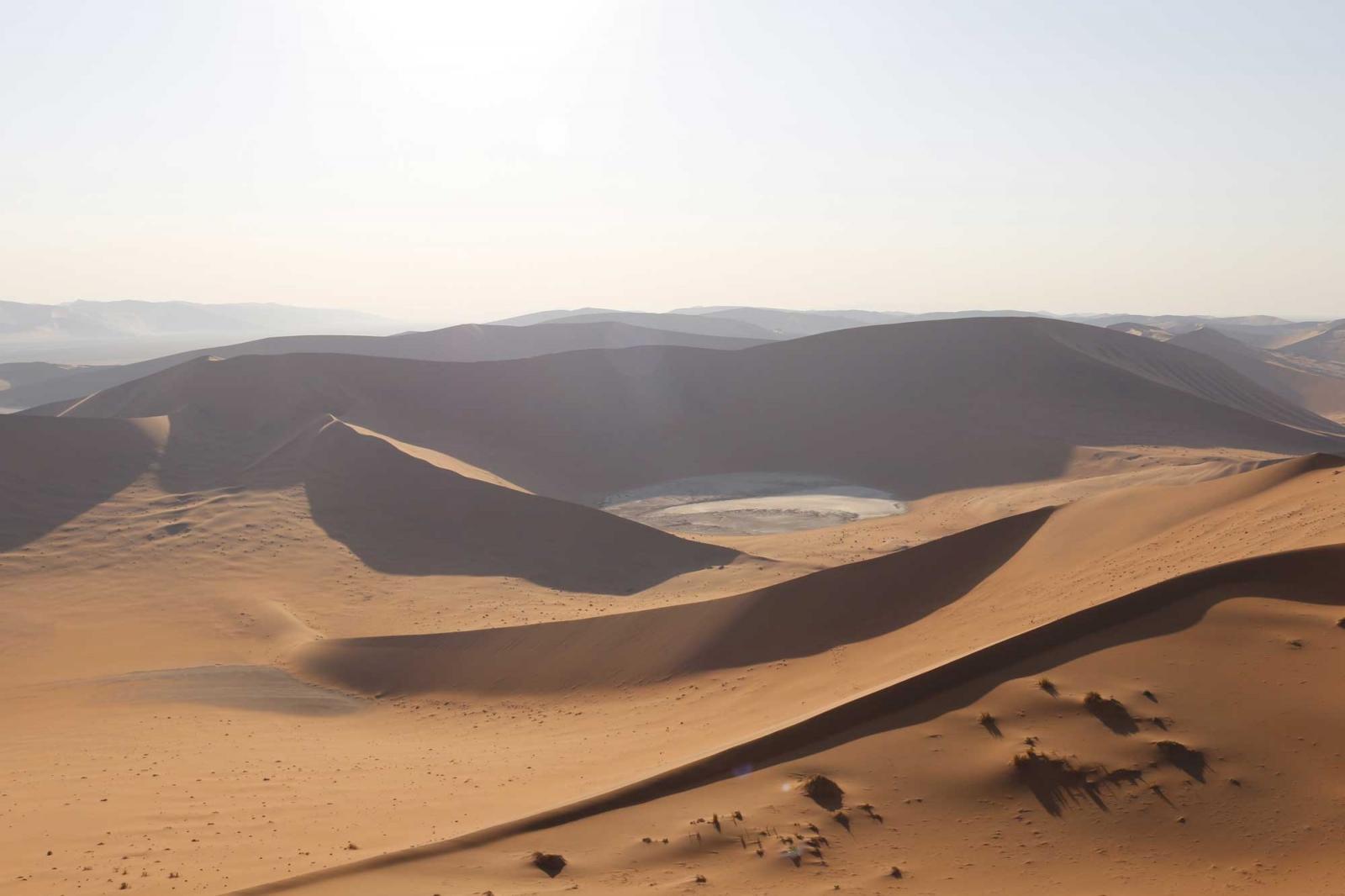 Die Dünen: ein überwältigendes Wellenmeer.